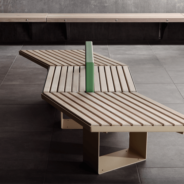 Sinus Kvadrat bench