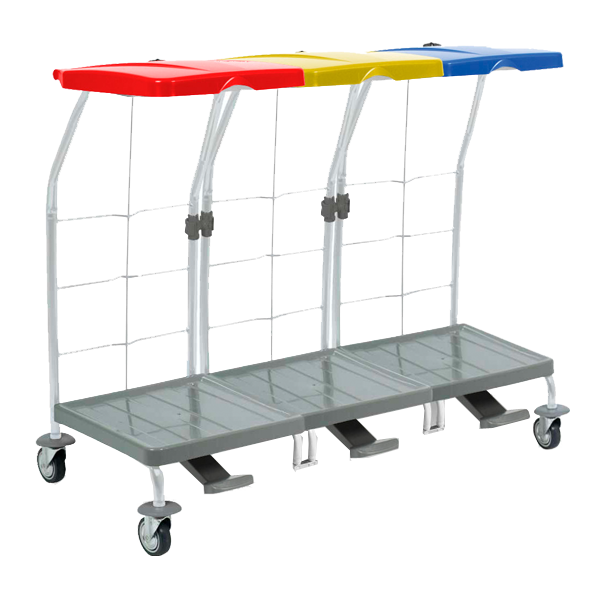 Svukku triple bag trolley