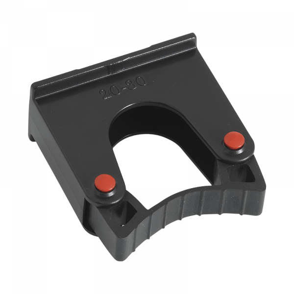 Rubberised 30-40 mm tool holder